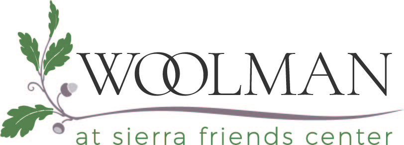 Logo for Woolman at Sierra Friends Center