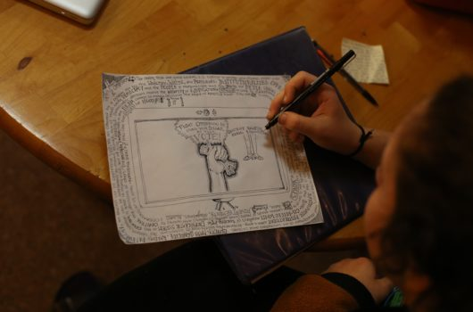 Thumbnail for the Jorgensen School for Nonviolence Pilot: Seeking Faculty page.